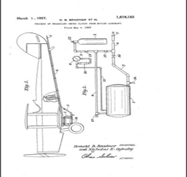 Picture of Smoke  making patent for Jets